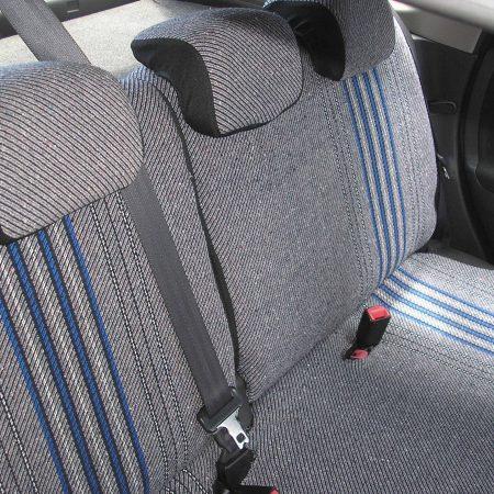 Autó üléshuzat – Szövet anyagból méretazonos szabással