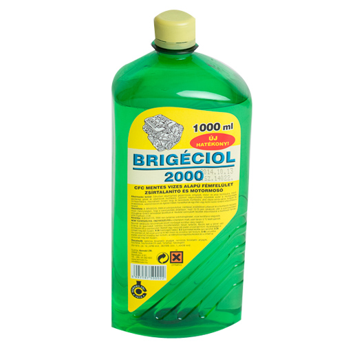 BRIGÉCIOL 1 L 2000 Vízbázisú motormosó