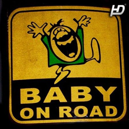Baby on Board Matrica BabyOnRoad2 Matrica_FamilyOnRoad21